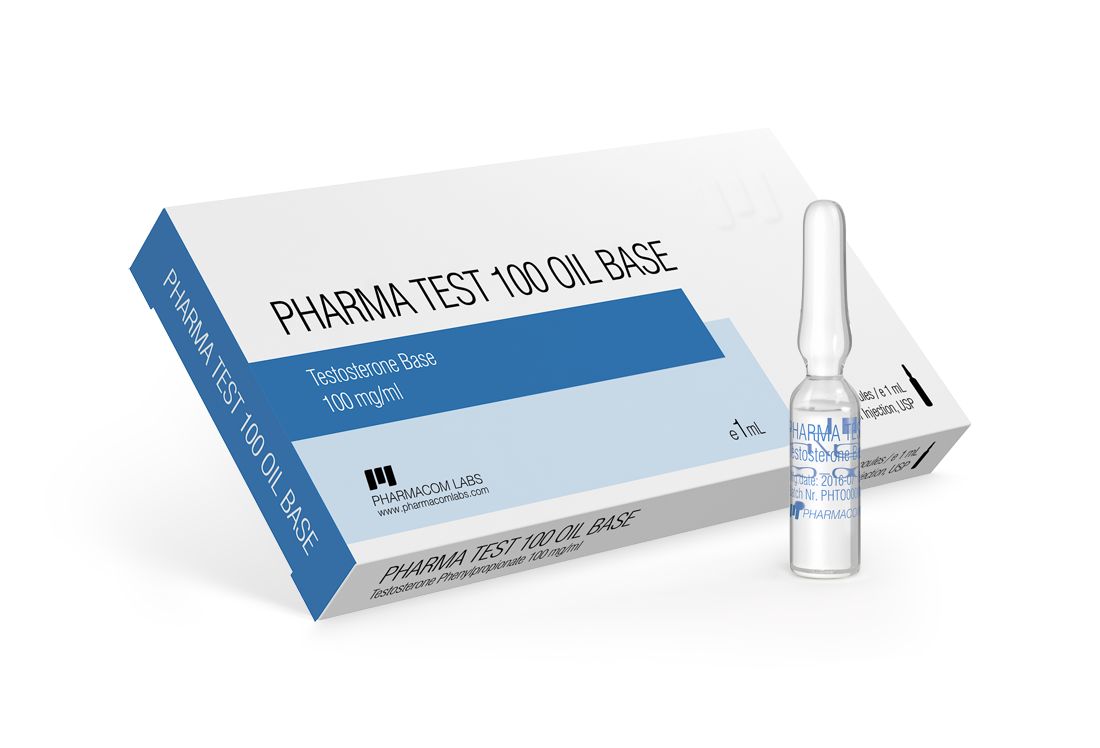 PHARMA TEST 100 OIL BASE Ampules
